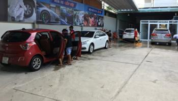 Rửa xe - Hút bụt